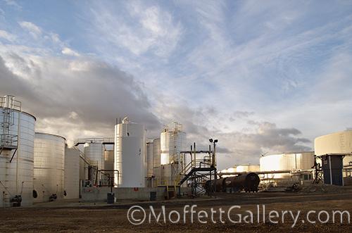 large storage tanks