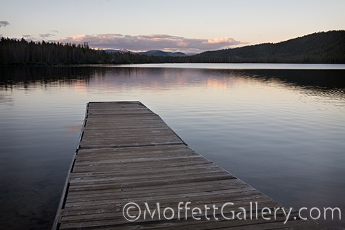 The dock at Stanley Lake